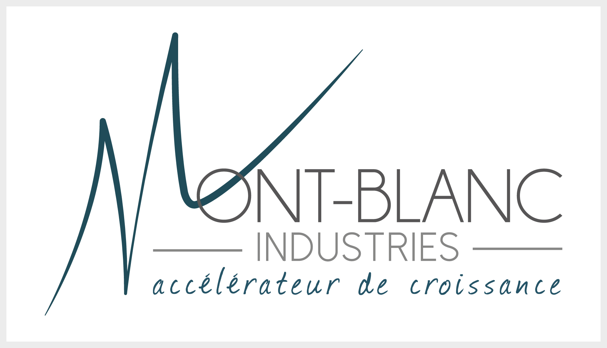 Mont-blanc industries cluster logo