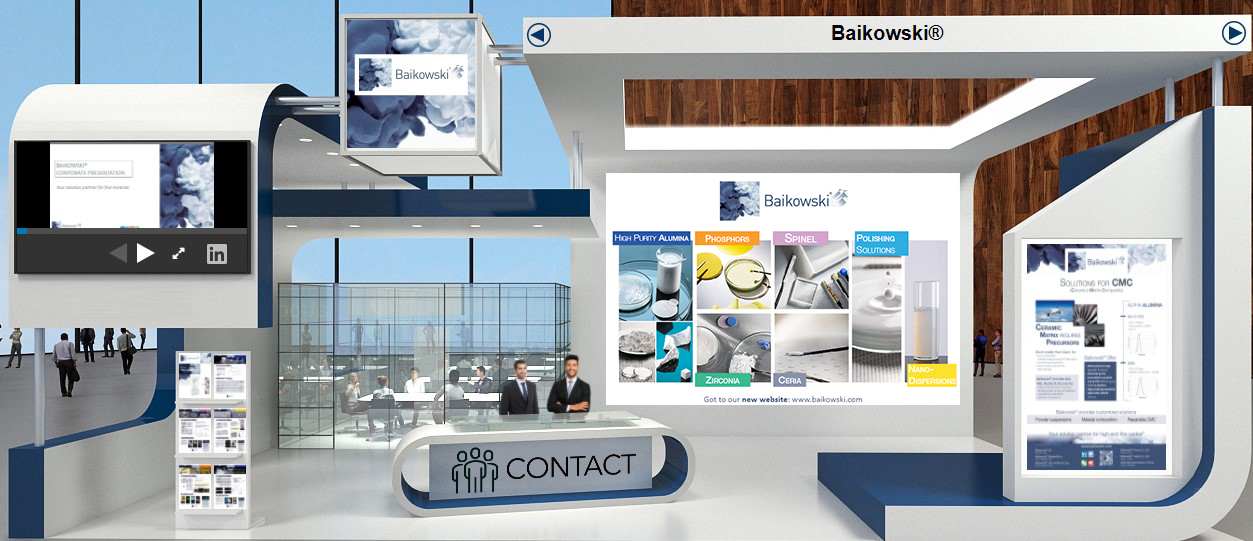 Baikowski virtual booth at AITS 2021