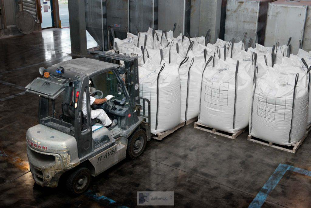Baikowski usine big bags high purity alumina