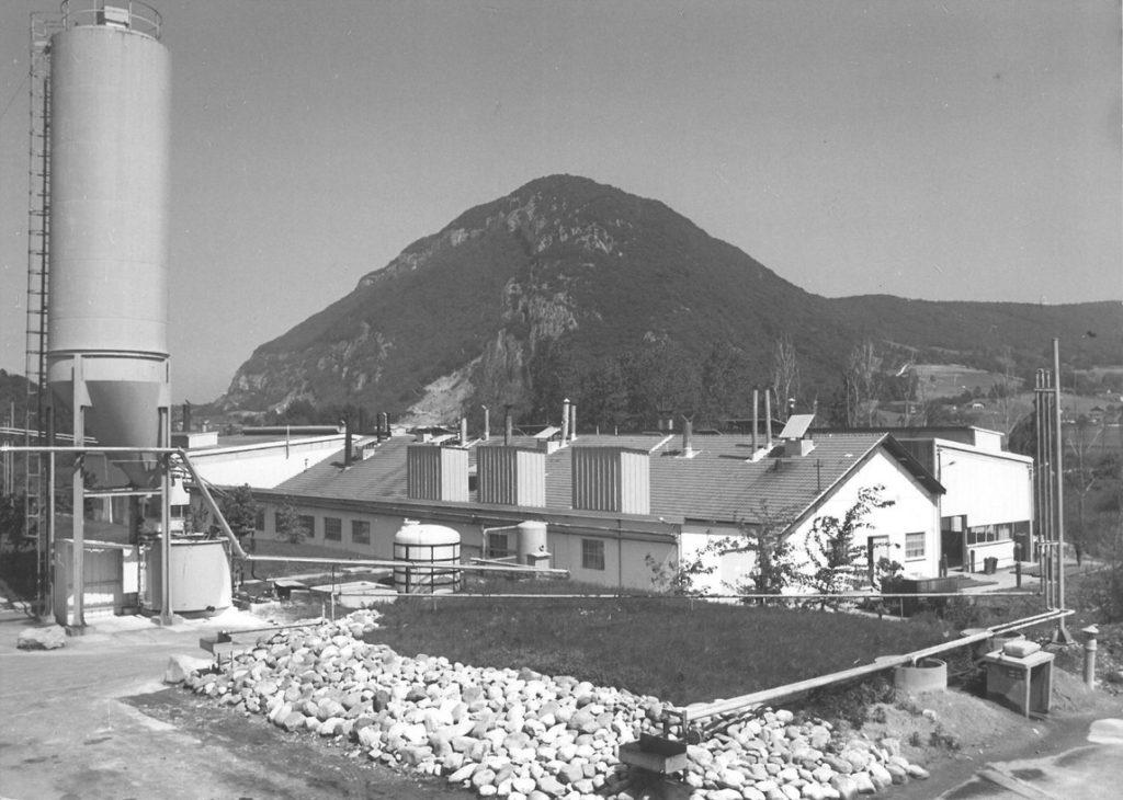 Baikowski Poisy plant in the 1950's