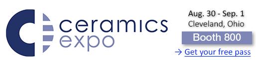 Baikowski at Ceramics Expo 2021 booth 800